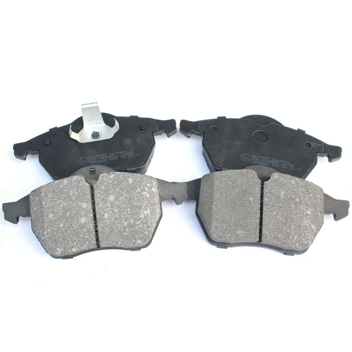Bremsbelagsatz, Scheibenbremse, Vorderachse für Opel, Saab, BB08026