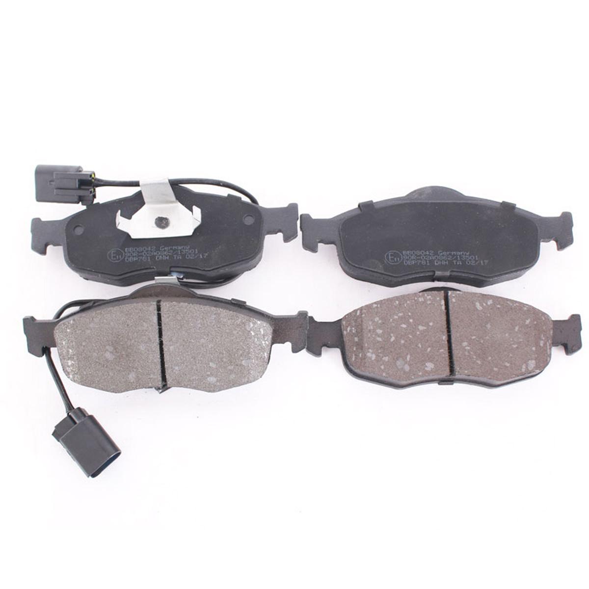 Bremsbelagsatz, Scheibenbremse Vorderachse für Ford Cougar, Mondeo, BB08042