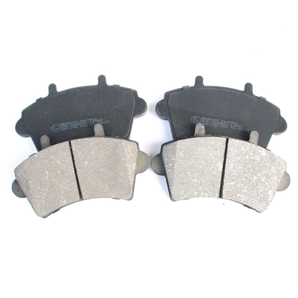 Bremsbelagsatz Scheibenbremse Vorderachse für Nissan Opel Renault BB08103