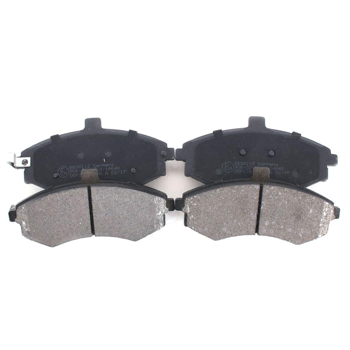 Bremsbelagsatz Scheibenbremse Vorderachse für Hyundai Elantra Matrix BB08112