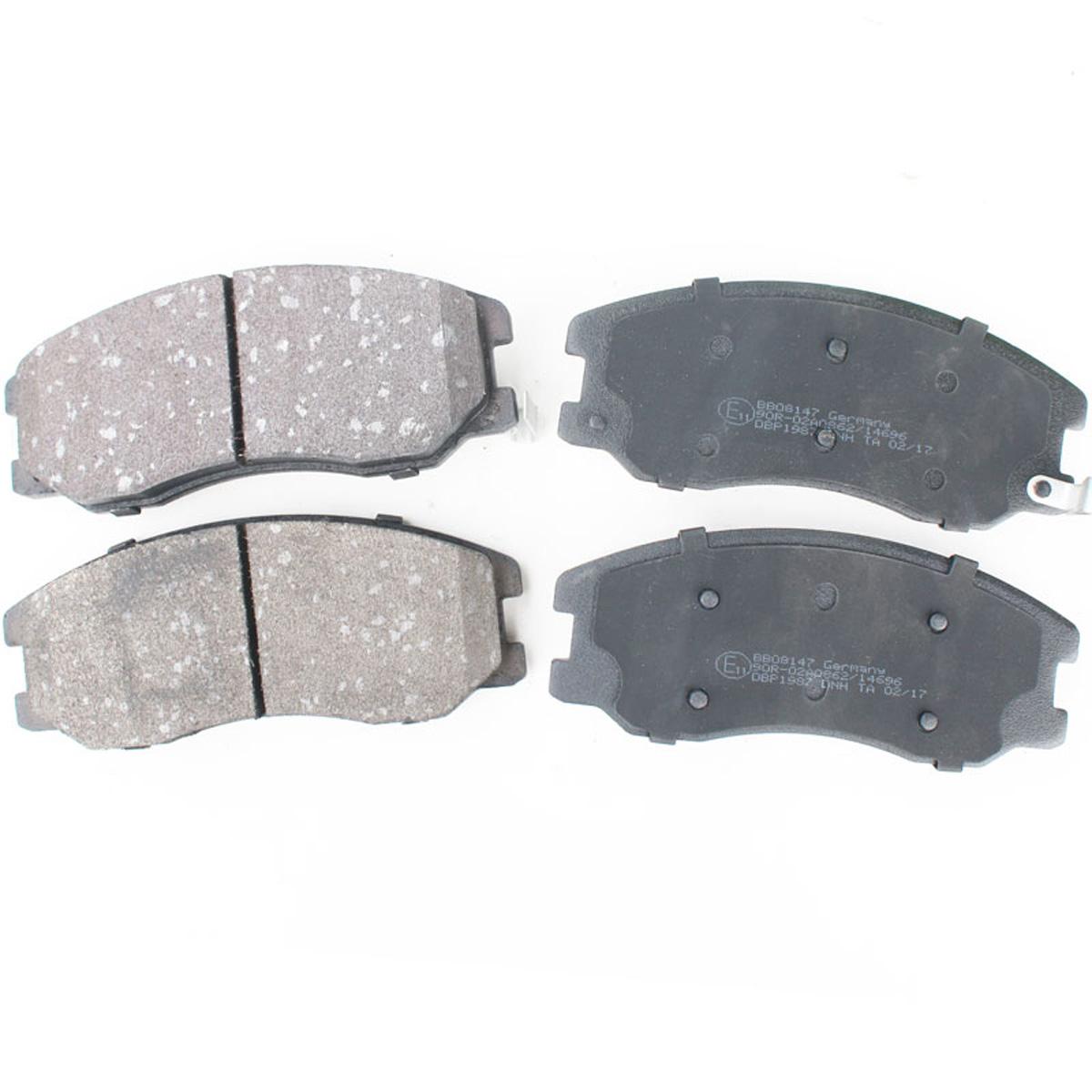 Bremsbelagsatz, Scheibenbremse, Vorderachse für Chevrolet, Opel, BB08147