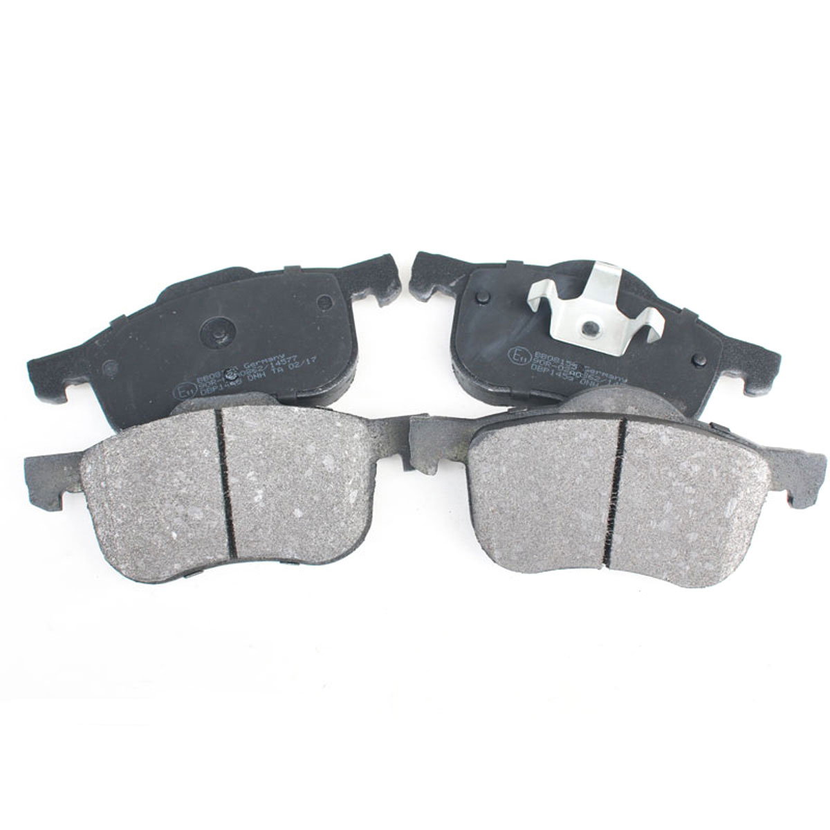 Bremsbelagsatz Scheibenbremse Vorderachse für Volvo S60, S80, V70, XC70, BB08155