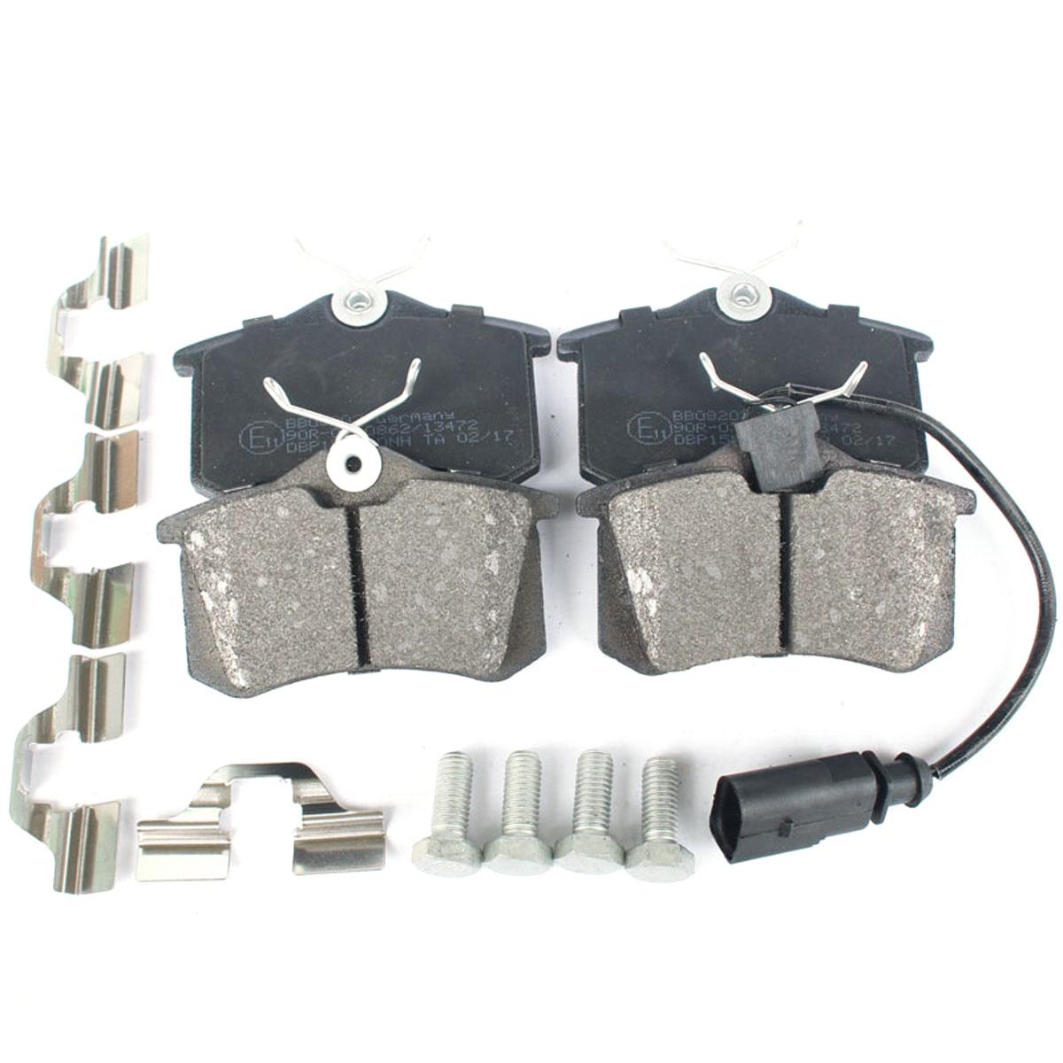 Bremsbelagsatz, Hinterachse für Ford Galaxy WGR 1.9 TDI  BB08202