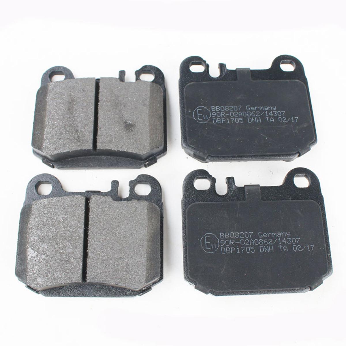 Bremsbelagsatz, Scheibenbremse, Hinterachse für Mercedes M-Klasse W163, BB08207