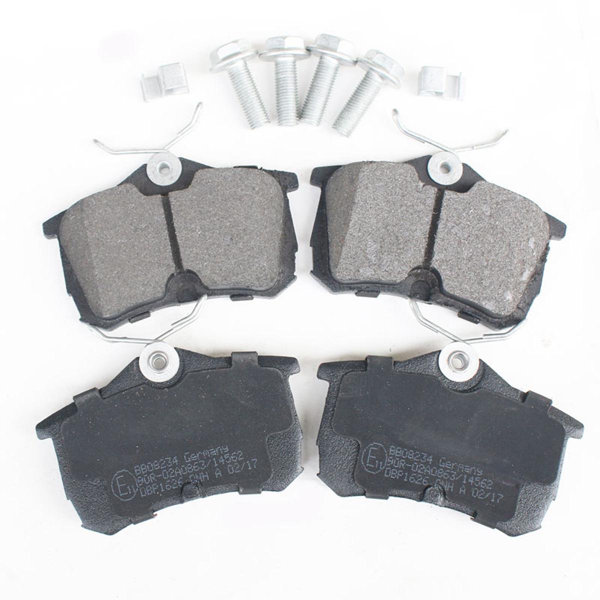 Bremsbelagsatz, Scheibenbremse, Hinterachse für Honda Accord, BB08234