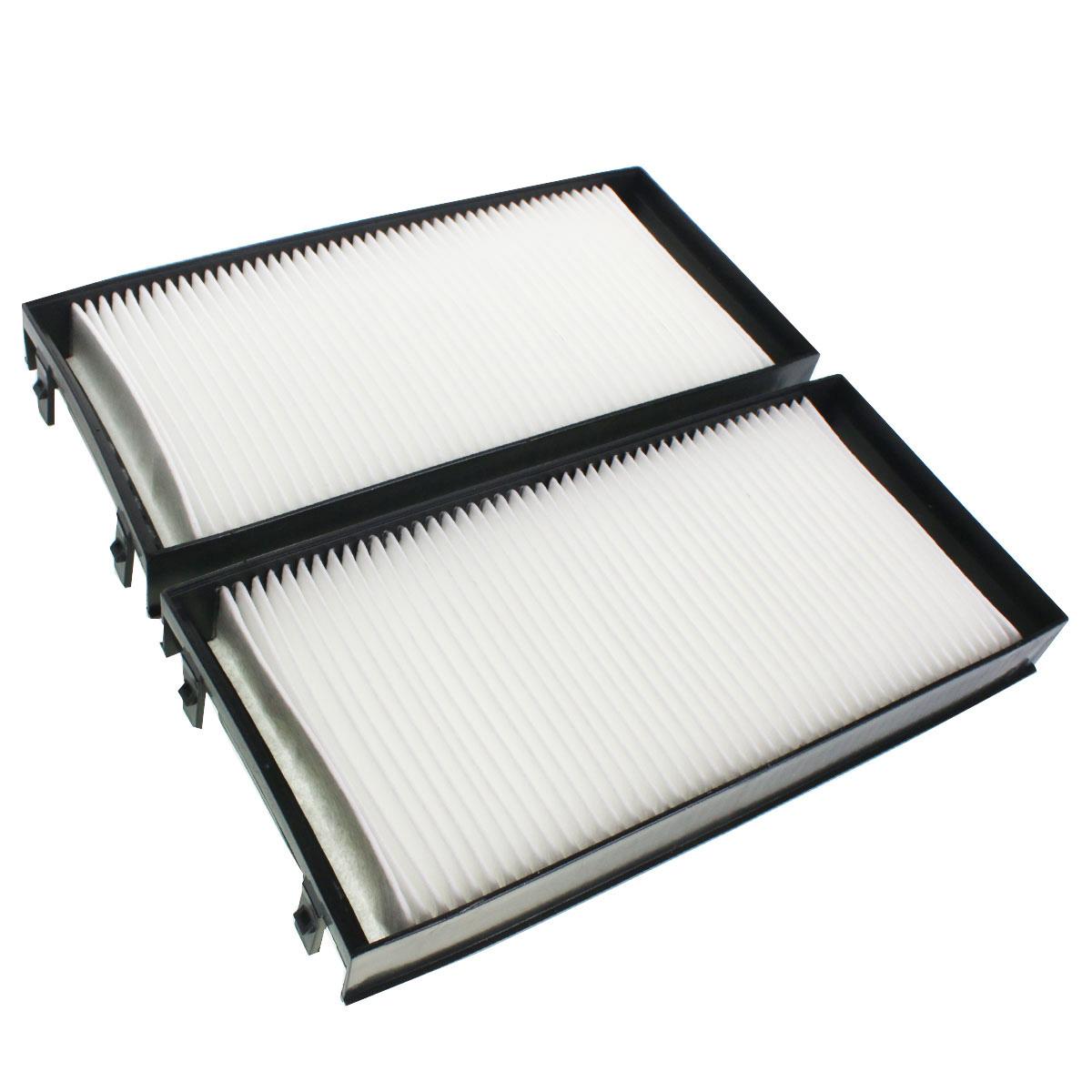 2x Innenraumluftfilter Pollenfilter für BMW X5, BMW X6 entsp. CU2941-2, FK00043