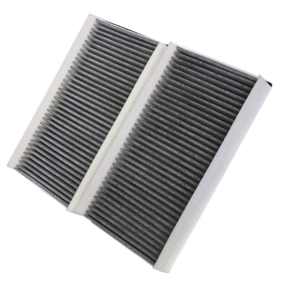 2er Set Aktivkohlefilter für BMW 5er (E60-E61) 6er (E63-E64), FK00113