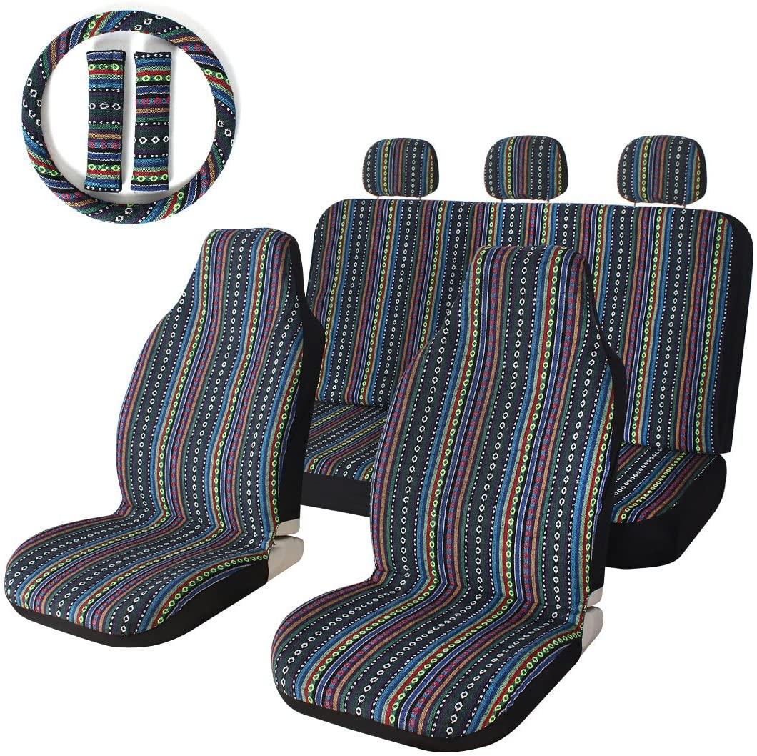 Auto Sitzbezug Universal Set Schonbezüge Sitzauflage Autositzbezüge IASC-010