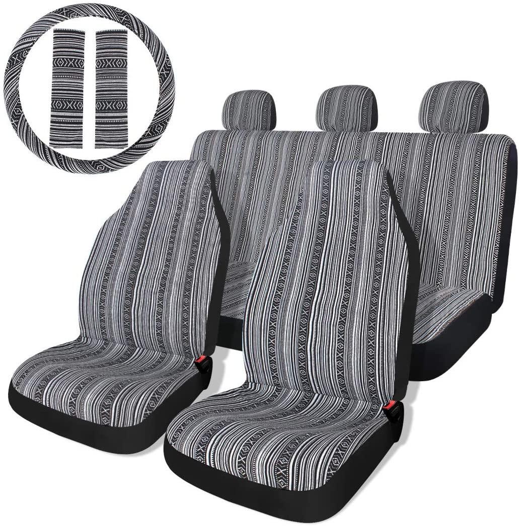 Auto Sitzbezug Universal Set Schonbezüge Sitzauflage Autositzbezüge IASC-013